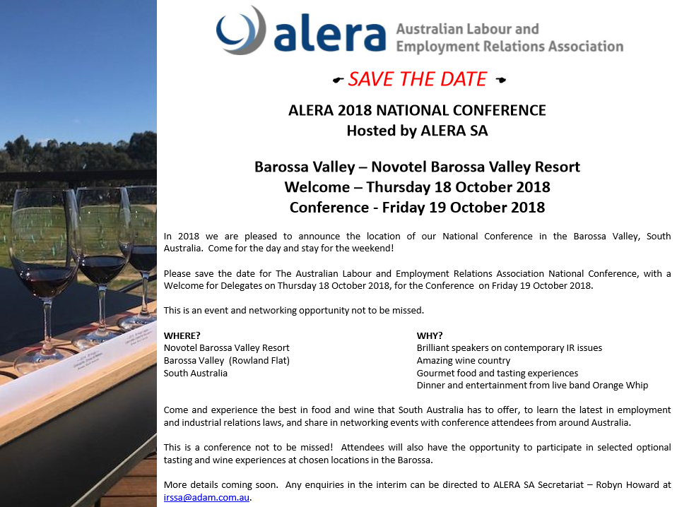 ALERA 2018 National Conference